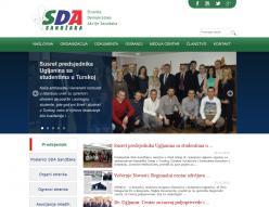 web dizajn SDA Sandžaka
