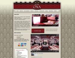 web dizajn Hotel OXA