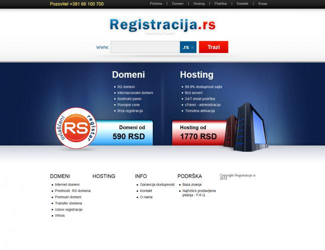 web dizajn Registracija.rs