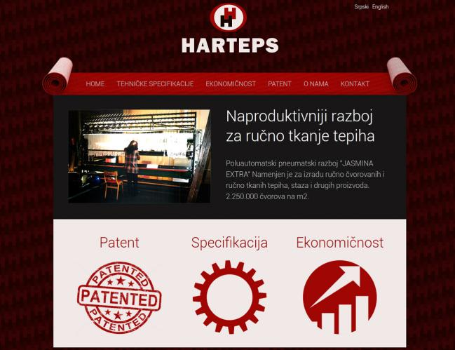 web dizajn Harteps
