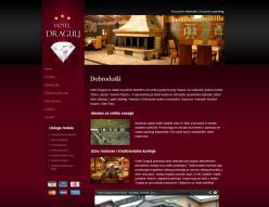 web dizajn Hotel Dragulj
