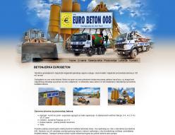 web dizajn Eurobeton 008
