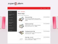 web dizajn Super Storm