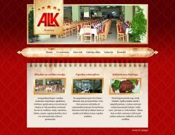 web dizajn Restoran ALK