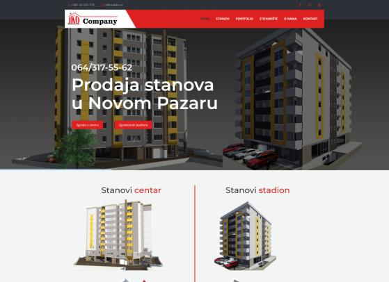 Iko company Web sajt, Web portali,